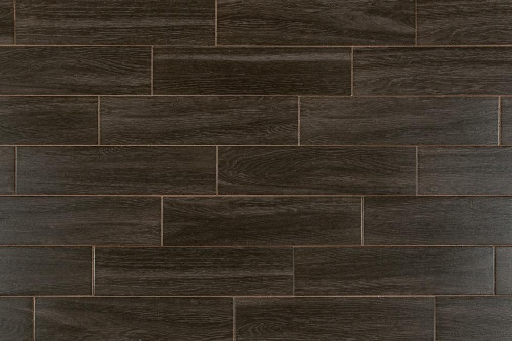 Dark ceramic tile