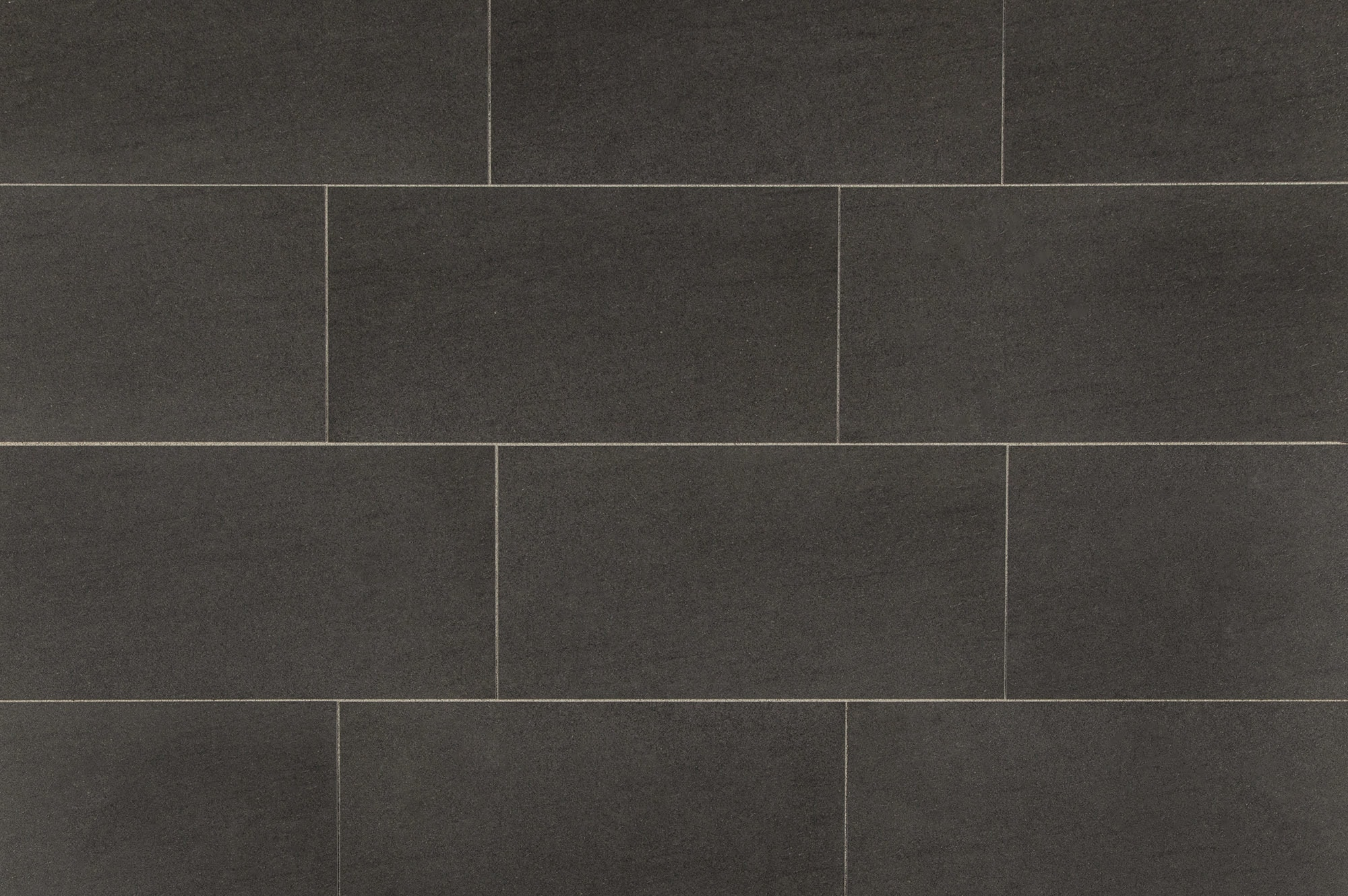 Dark tile floor