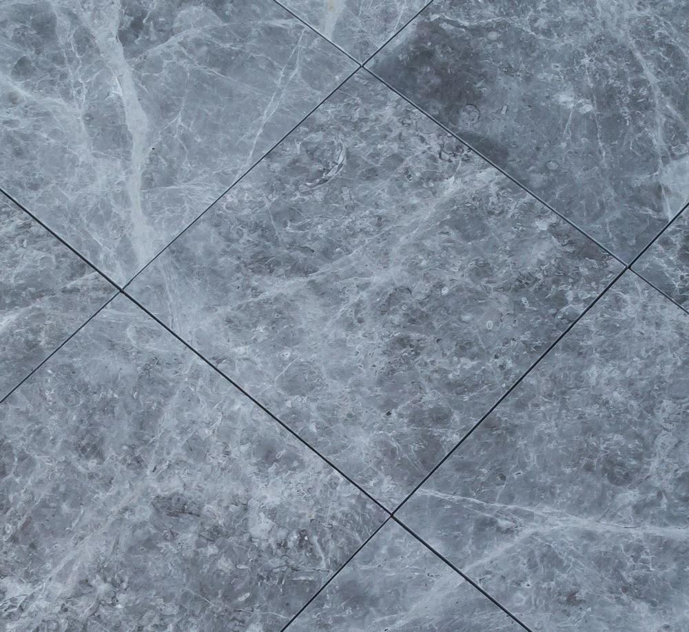Marble tiles floor