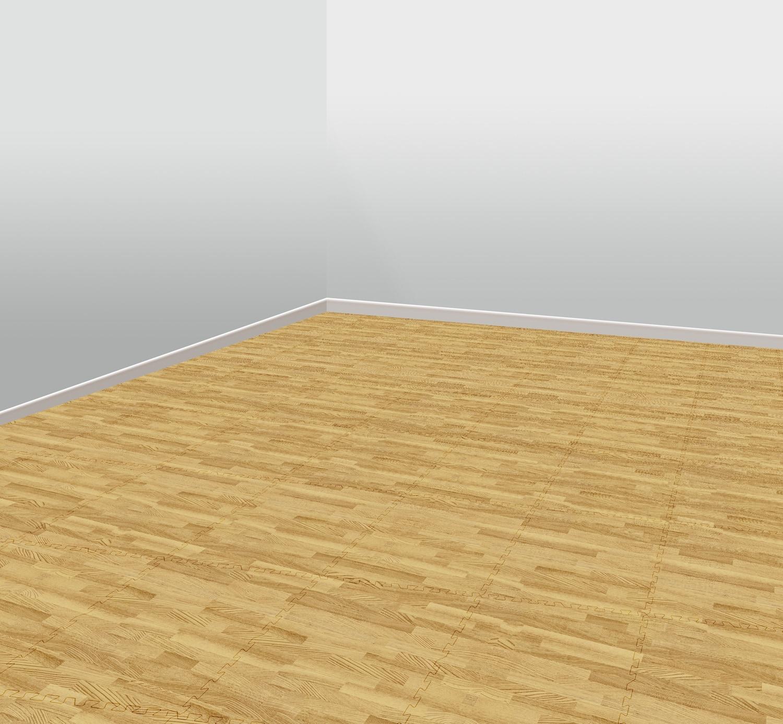 Foam floor tile