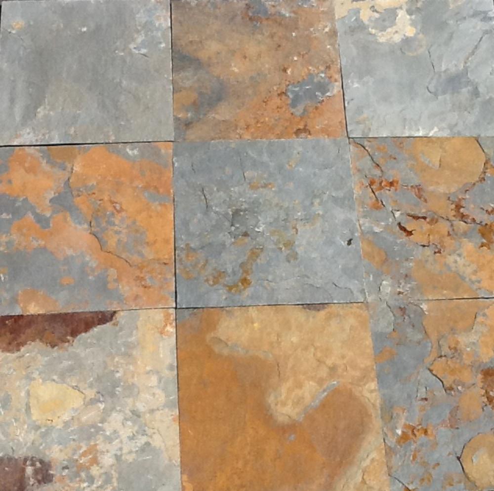 Tile slate flooring