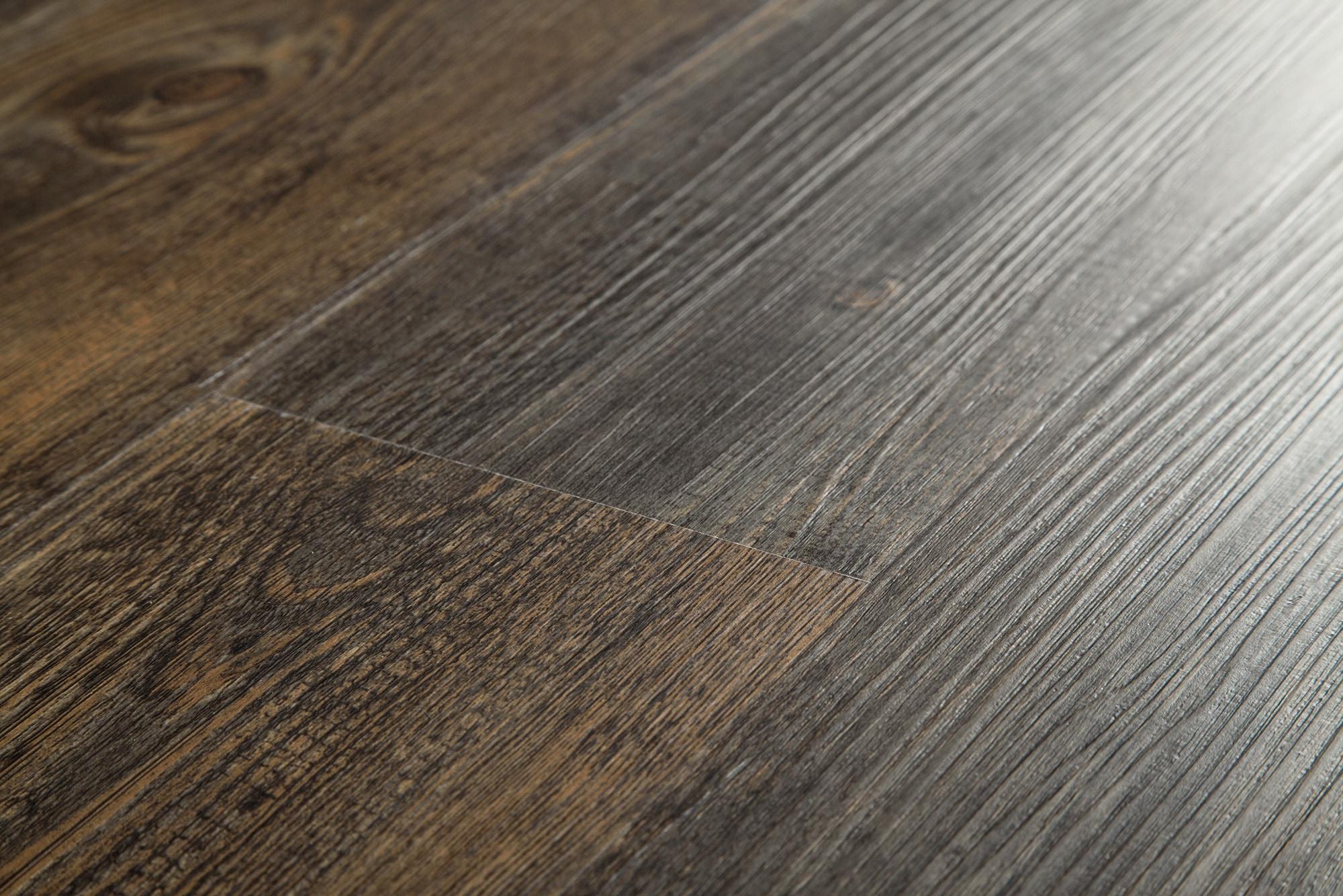 Vinyl tile click flooring