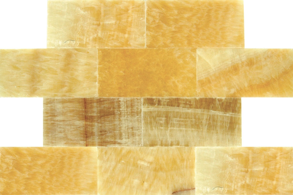 Onyx floor tiles