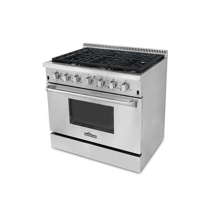 Thor Kitchen Stainless Steel Ranges Stainless Steel / Gas Ranges ...