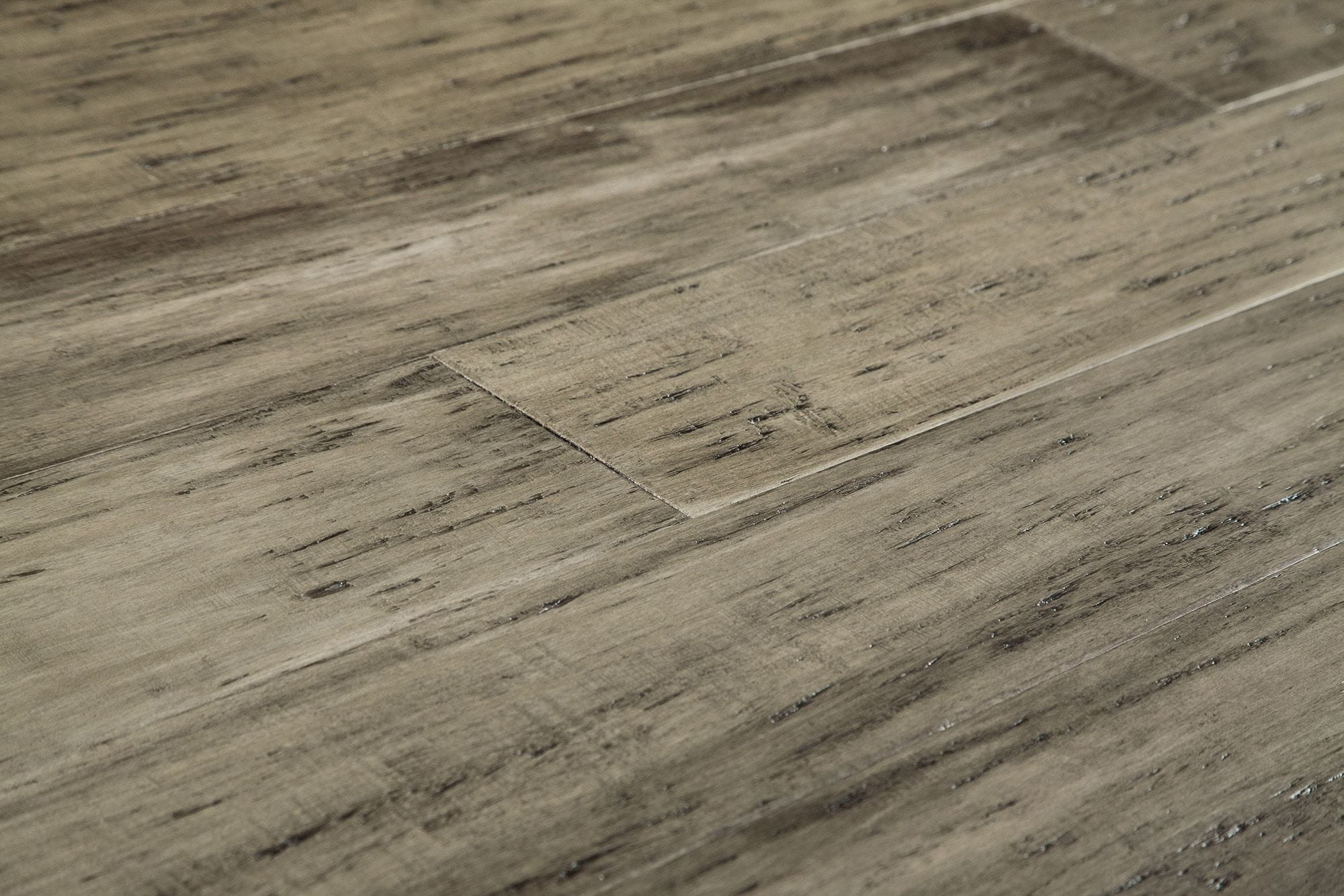 Bamboo Flooring Distressed Handscraped