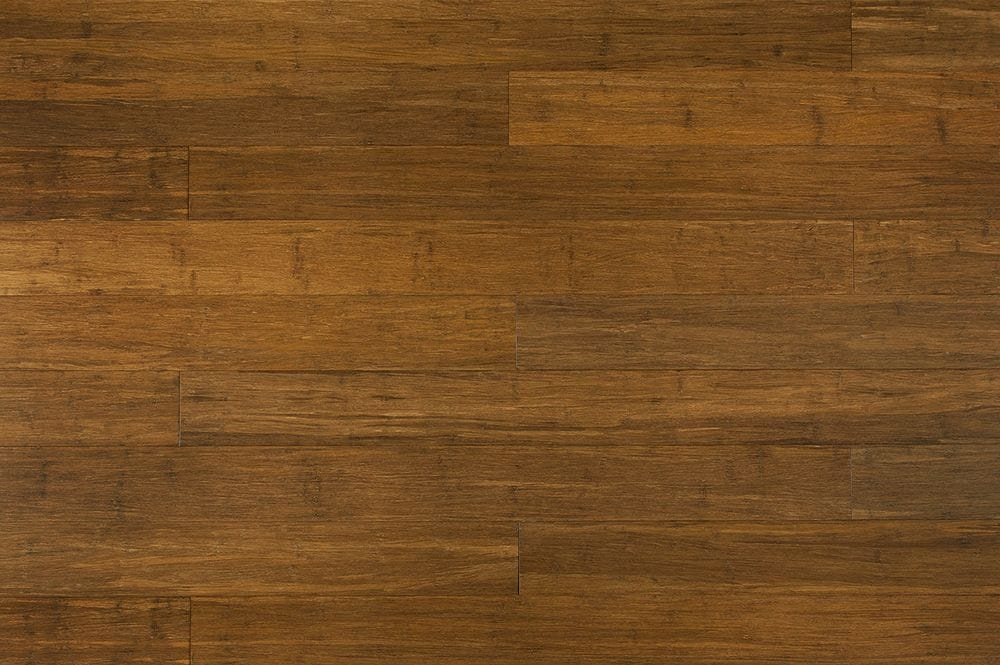 Yanchi 12mm Click Lock Solid Strand Woven Bamboo Flooring Carbonized