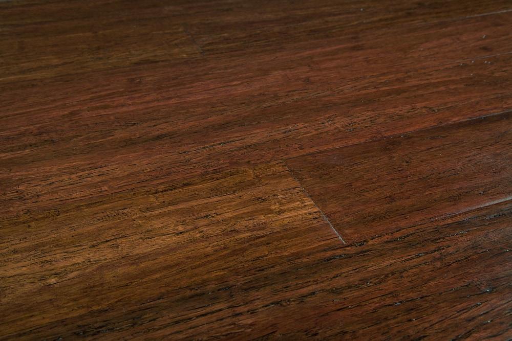 Free Samples Yanchi Click Lock Solid Strand Woven Bamboo Flooring