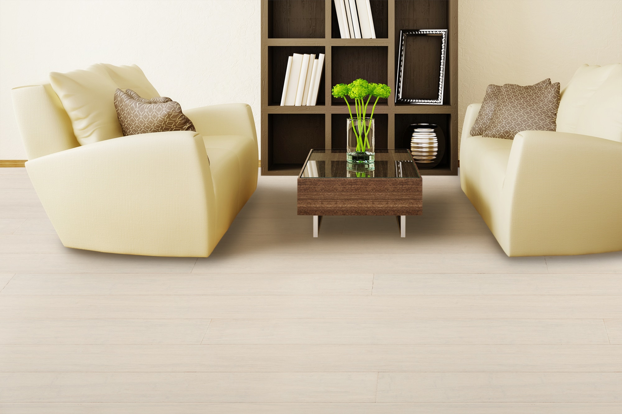 Yanchi Lock Solid Strand Woven Bamboo Flooring Distressed