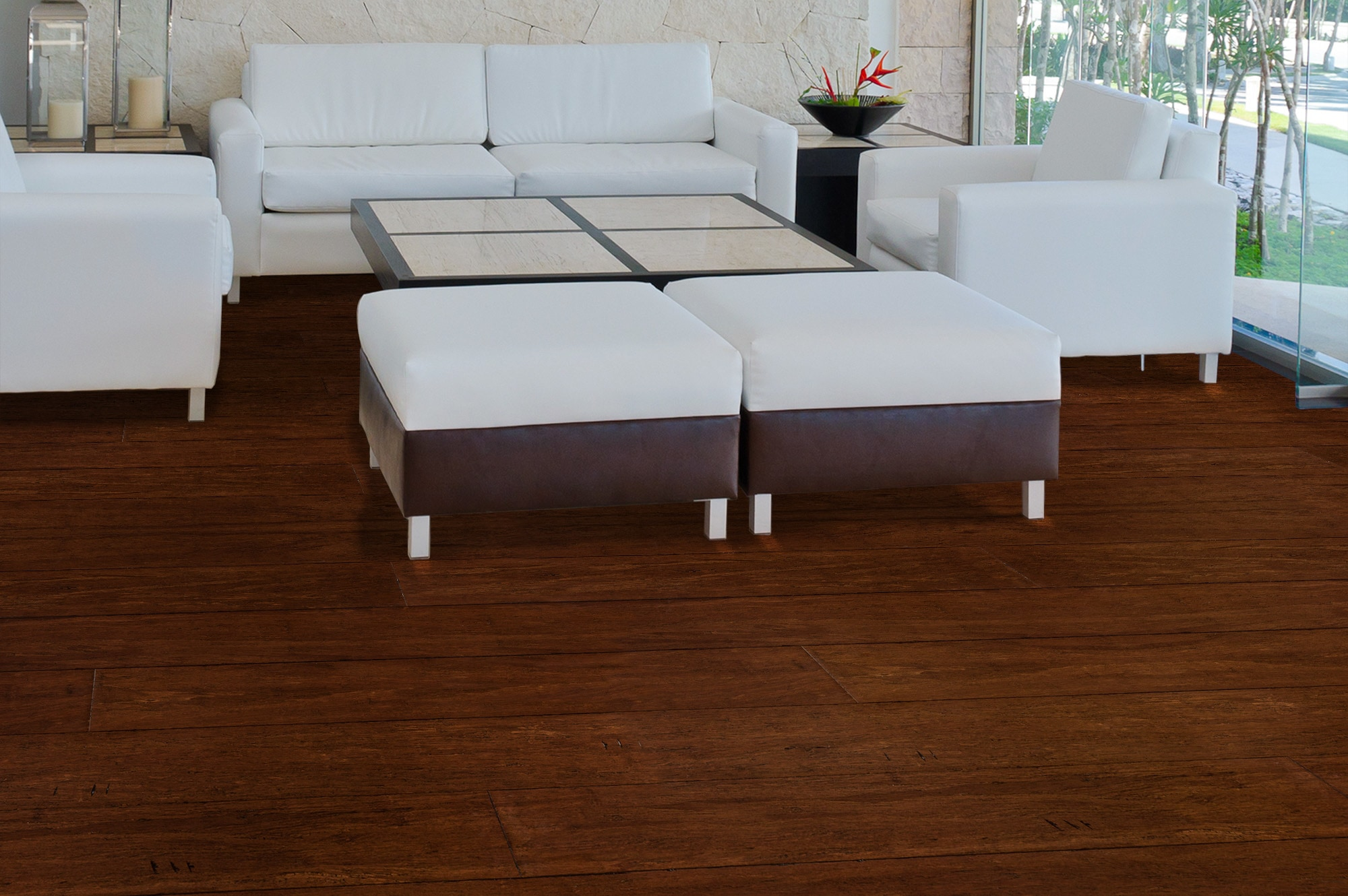 Click Hardwood Flooring 190mm brushed oiled engineered coffee oak click wood flooring 289m 2 Free Samples Yanchi Bamboo Click Lock Barn Plank Strand Woven Collection Distressed Bristle Brown