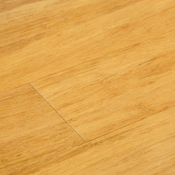 Natural Color Click Lock Solid Strand Woven Bamboo Flooring   New Natural