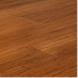 Click Lock Solid Strand Woven Bamboo Flooring   New Carbonized   Wide