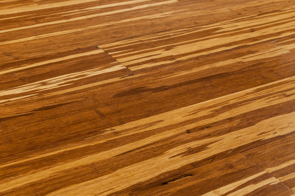 Yanchi ClickLock Solid Strand Woven Bamboo Flooring New Tiger - How expensive is bamboo flooring