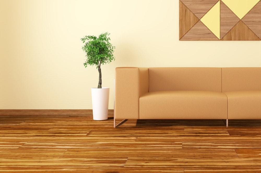 Yanchi Click Lock Solid Strand Woven Bamboo Flooring New Tiger