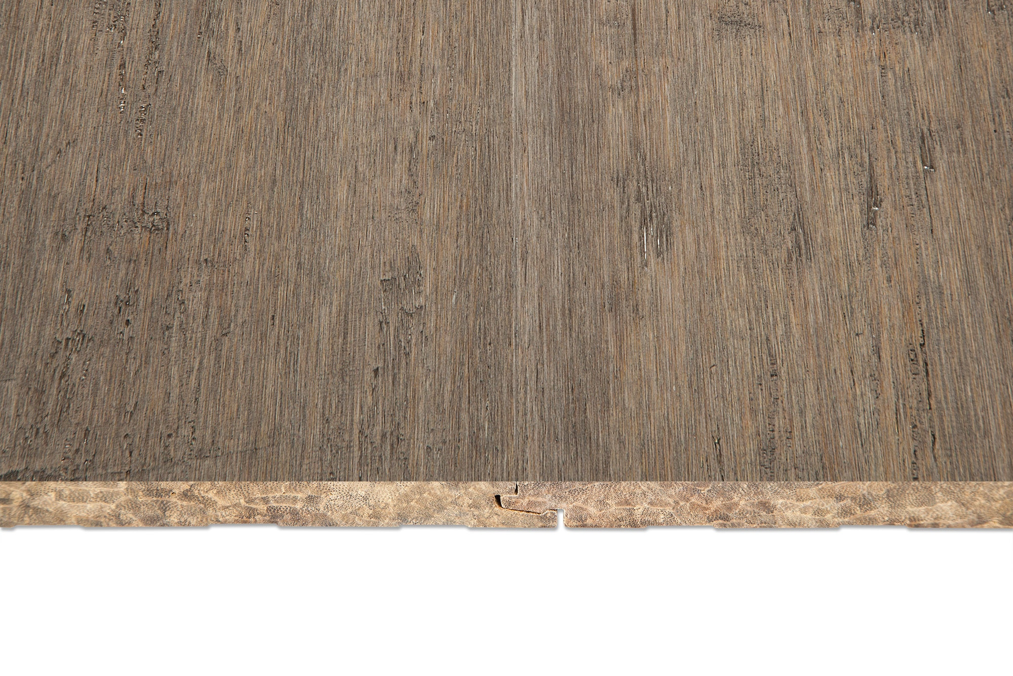 Yanchi Wide Strand Woven Bamboo Flooring Natural Nantucke