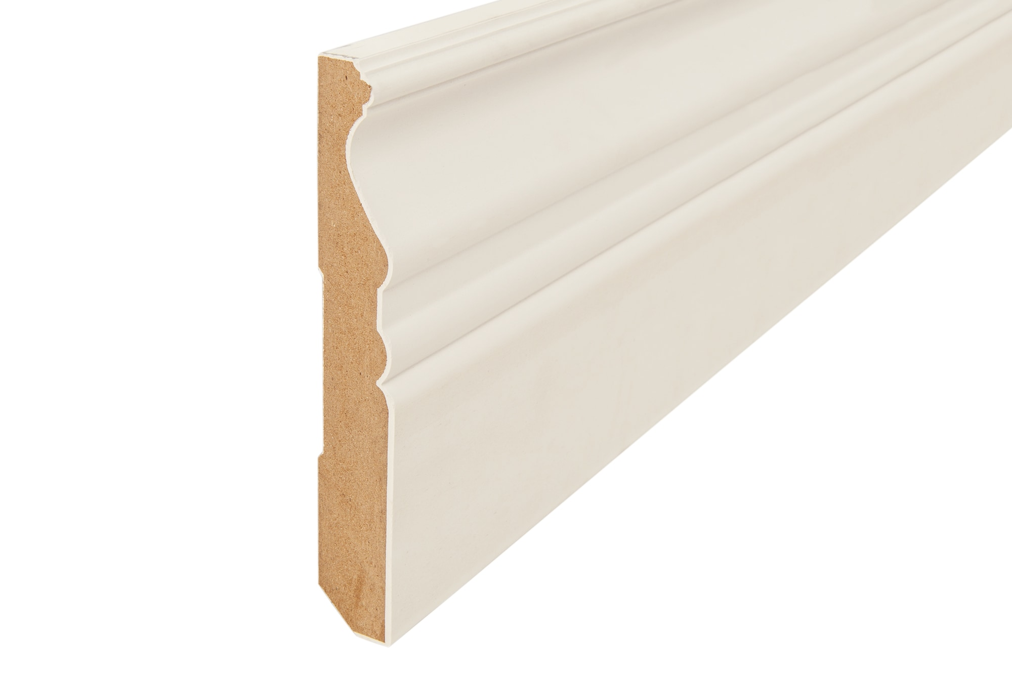 How to cut base molding around wall vent - Gesso Coated Architectural Baseboards 16 Baseboard 5 8 X 5 1