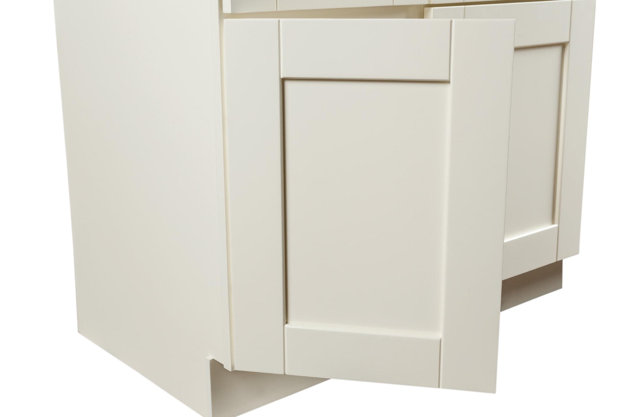 Grafton Bathroom Vanity Cabinets - Craftsman Collection White / 30 ...