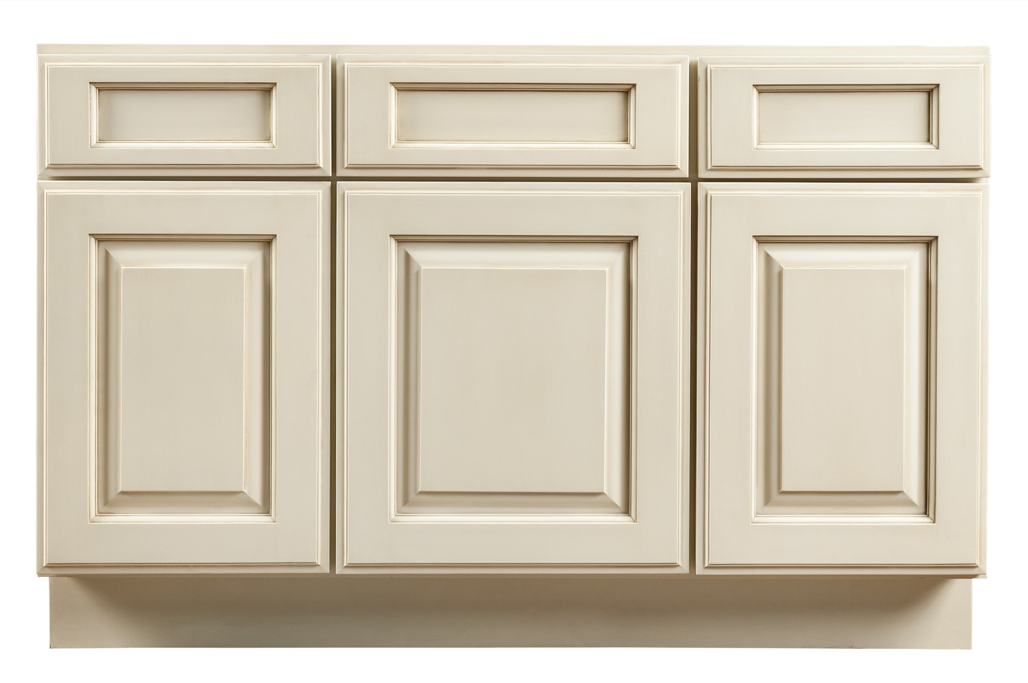 Grafton Bathroom Vanity Cabinets - Vintage Collection Antique White ...