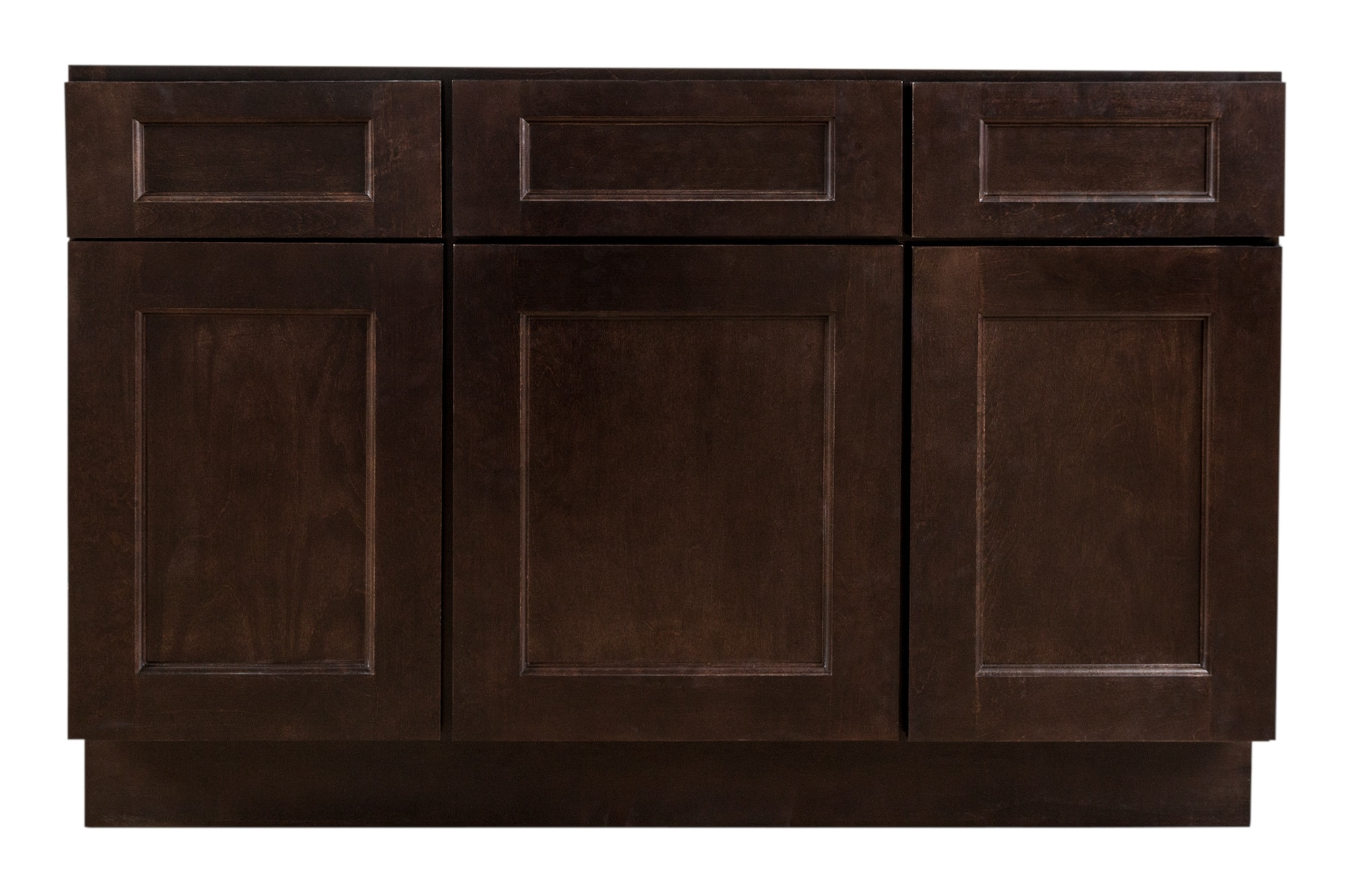 grafton bathroom vanity cabinets - modern collection espresso / 48