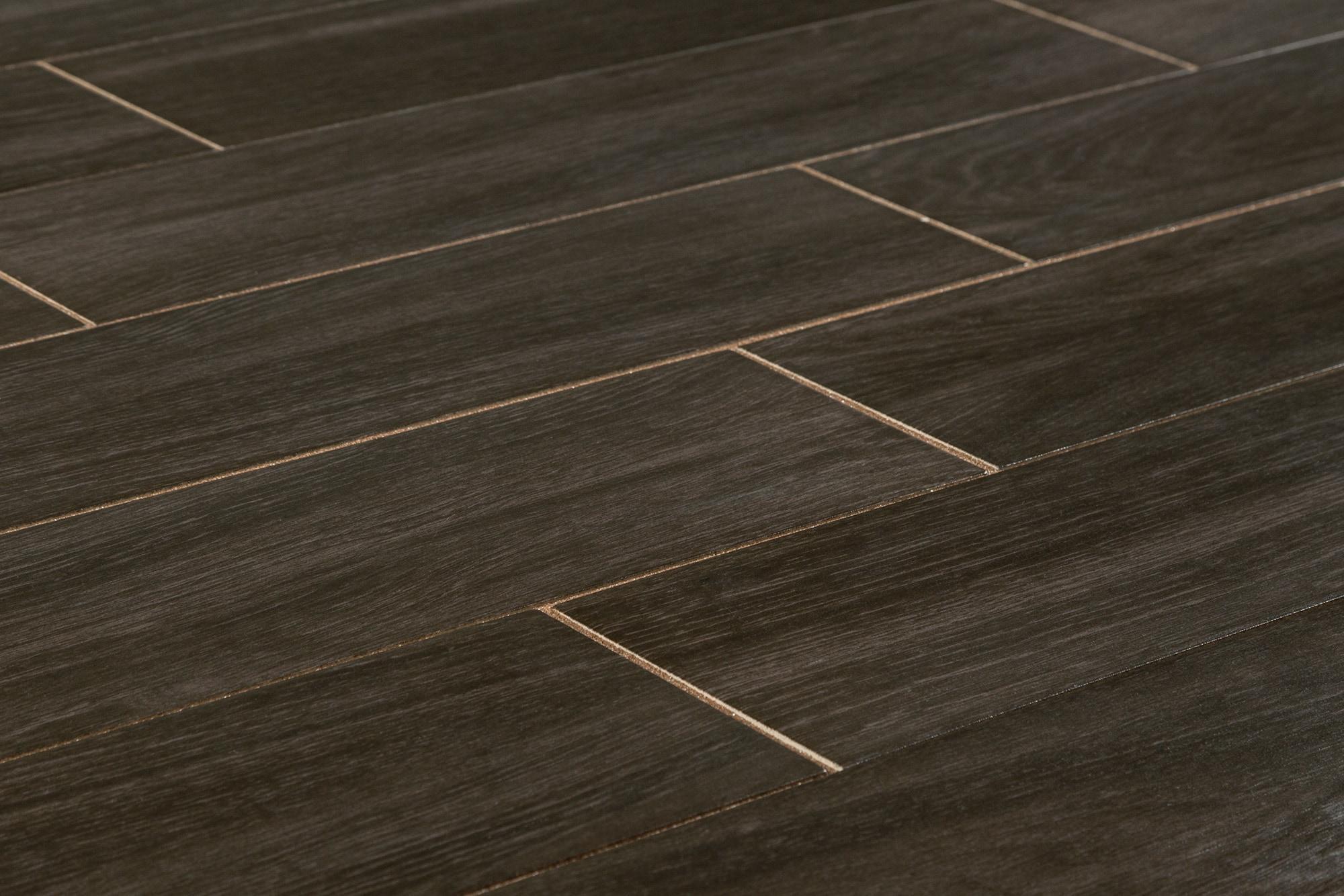 Free Samples Salerno Ceramic Tile Harbor Wood Series Dark Oak 6