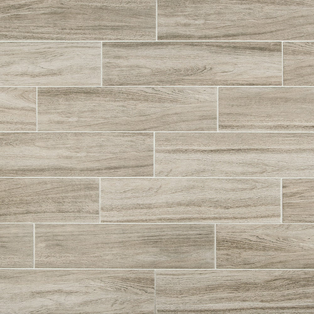 FREE Samples Salerno Ceramic Tile Harbor Wood Series Gray Birch - Bathroom ceramic tile floor