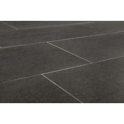 Salerno Full Body Porcelain Tile Everest Series Dark Gray X - Dark gray rectangular floor tile