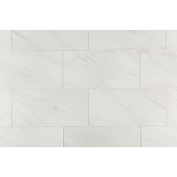 white porcelain tile floor. Salerno Porcelain Tile  Carrara Venato Series Ceramic White BuildDirect