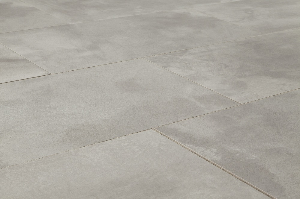 Salerno Porcelain Tile - Concrete Series White / 12\