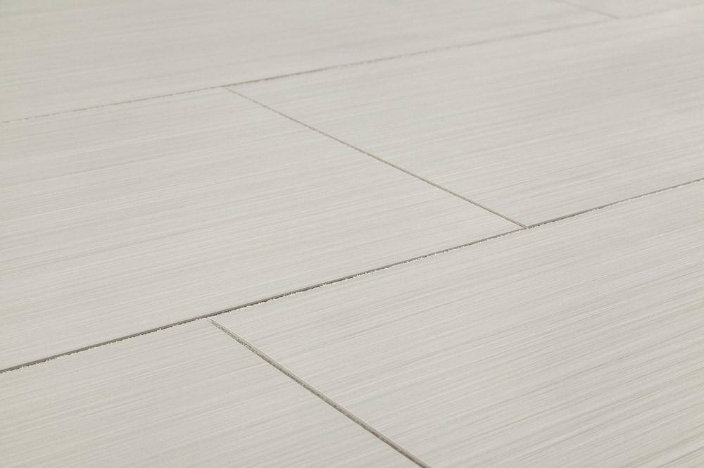 "Salerno Porcelain Tile - Raw Silk Series White / 12""x24"""