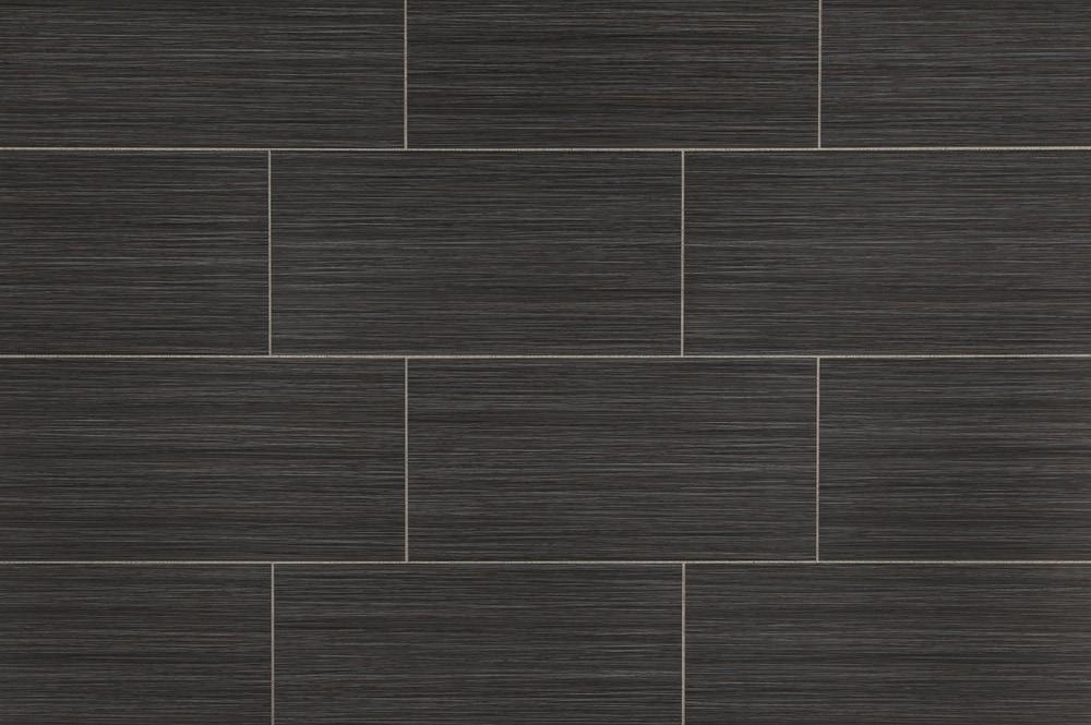 free samples salerno porcelain tile raw silk series black 12 x24