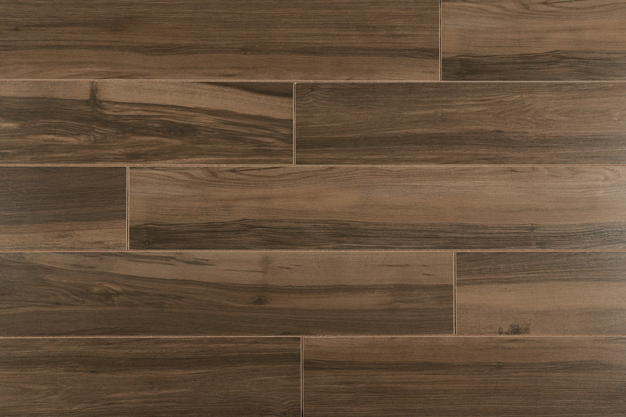 Salerno Porcelain Tile Urban Wood Series Dark Brown X - Dark brown tile that looks like wood