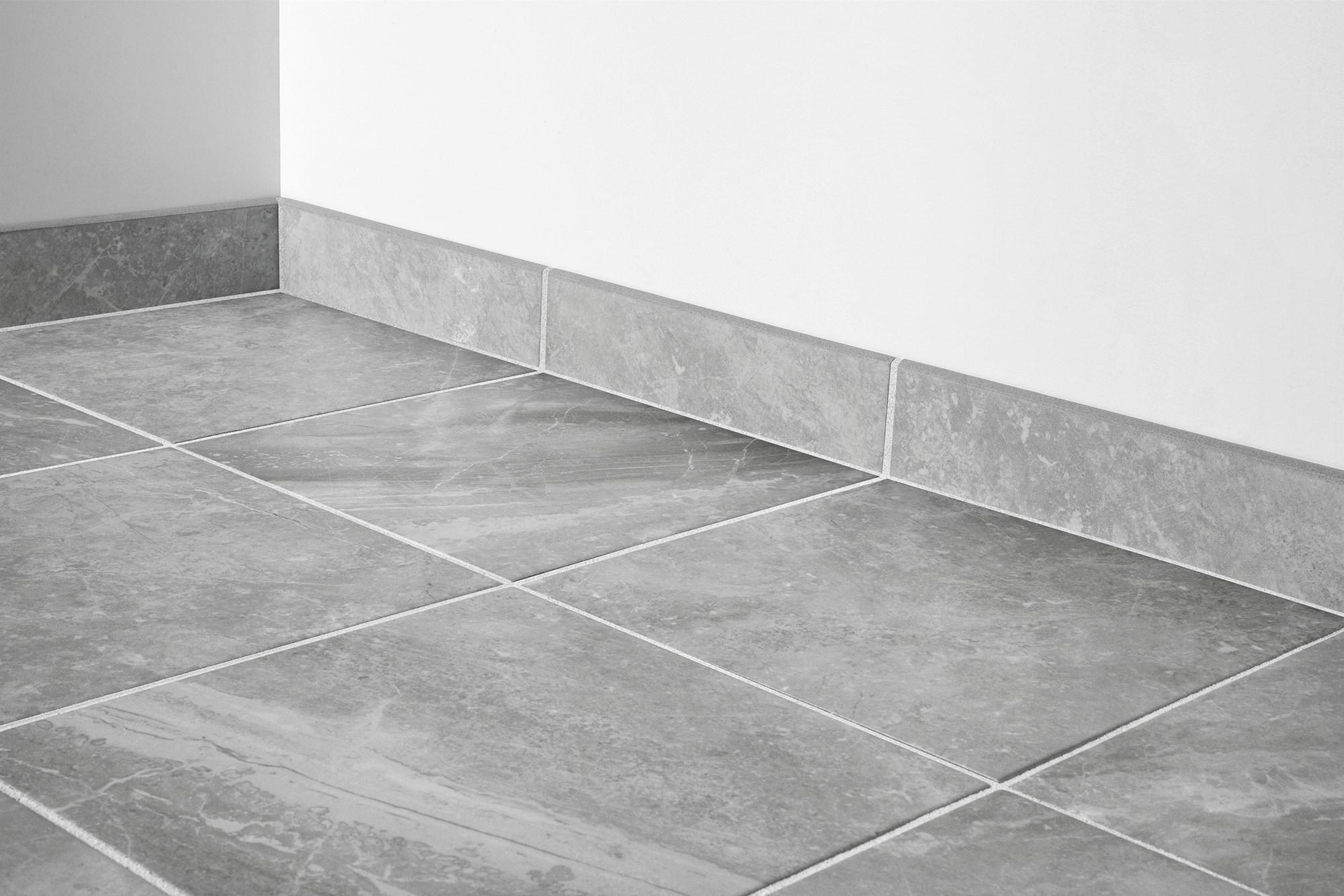 Silver / 3x12 - Bullnose / Matte Porcelain Tile - Desire Series 0