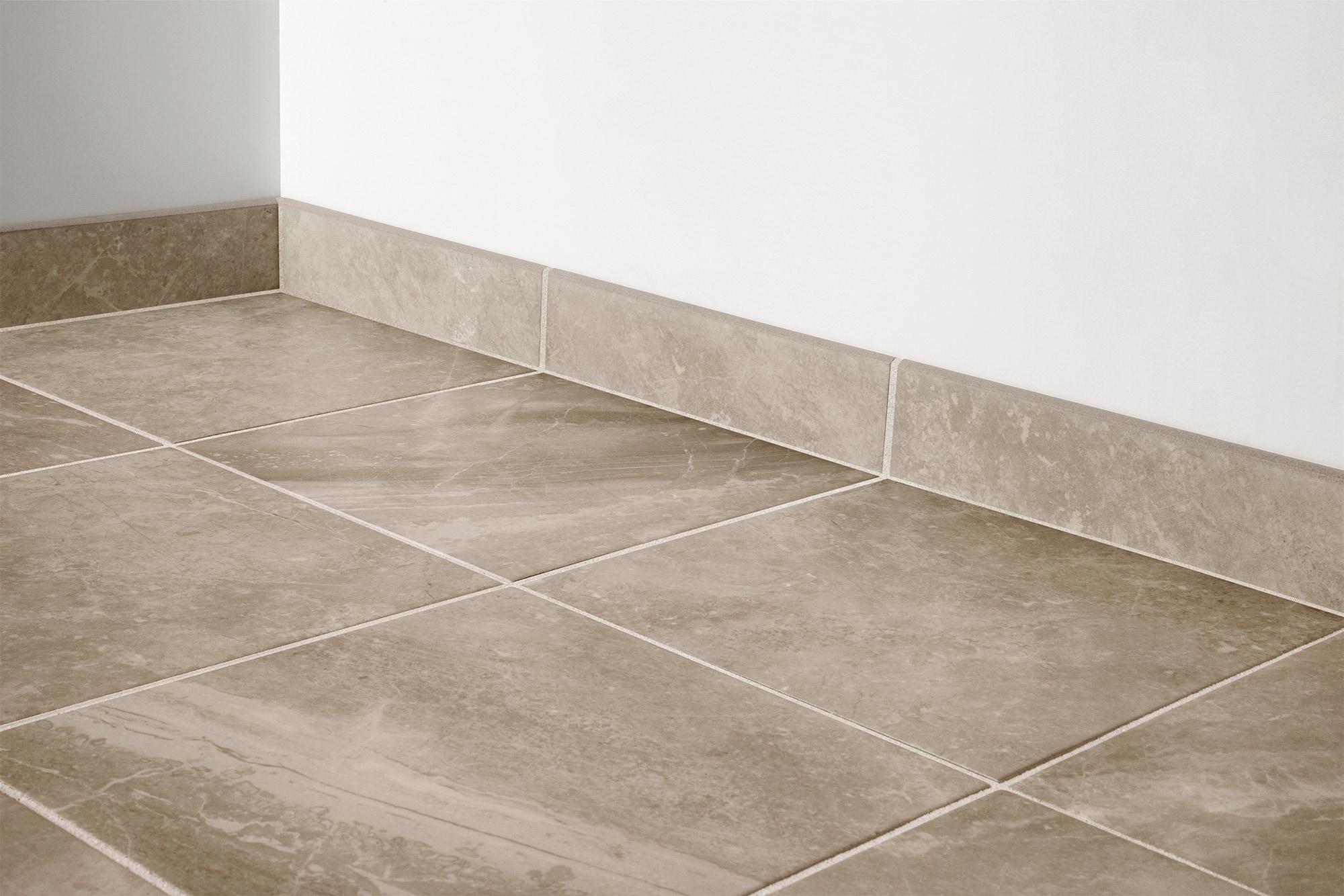 Brown / 3x12 - Bullnose / Matte Porcelain Tile - Desire Series 0