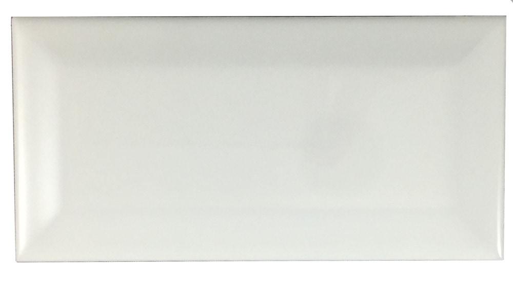 Hammersmith Subway Tile White Beveled 3 Quot X6 Quot Gloss
