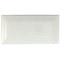 "White Beveled / 3""x6"" / Gloss"