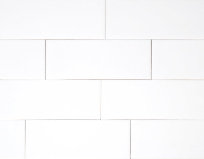 Hammersmith Subway Tile White X Gloss - 6 x 12 white porcelain tile