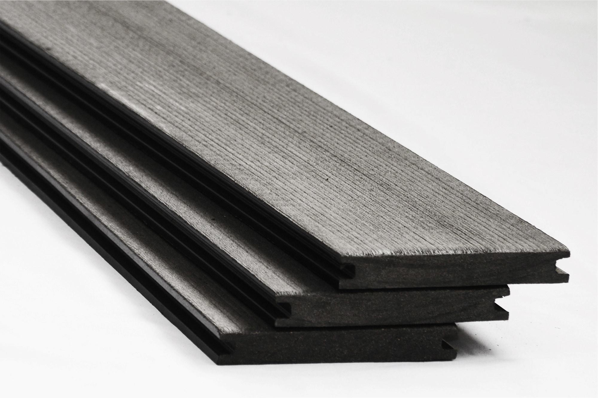 Pravol posite Decking Basics Deck Board Solid Charcoal 1