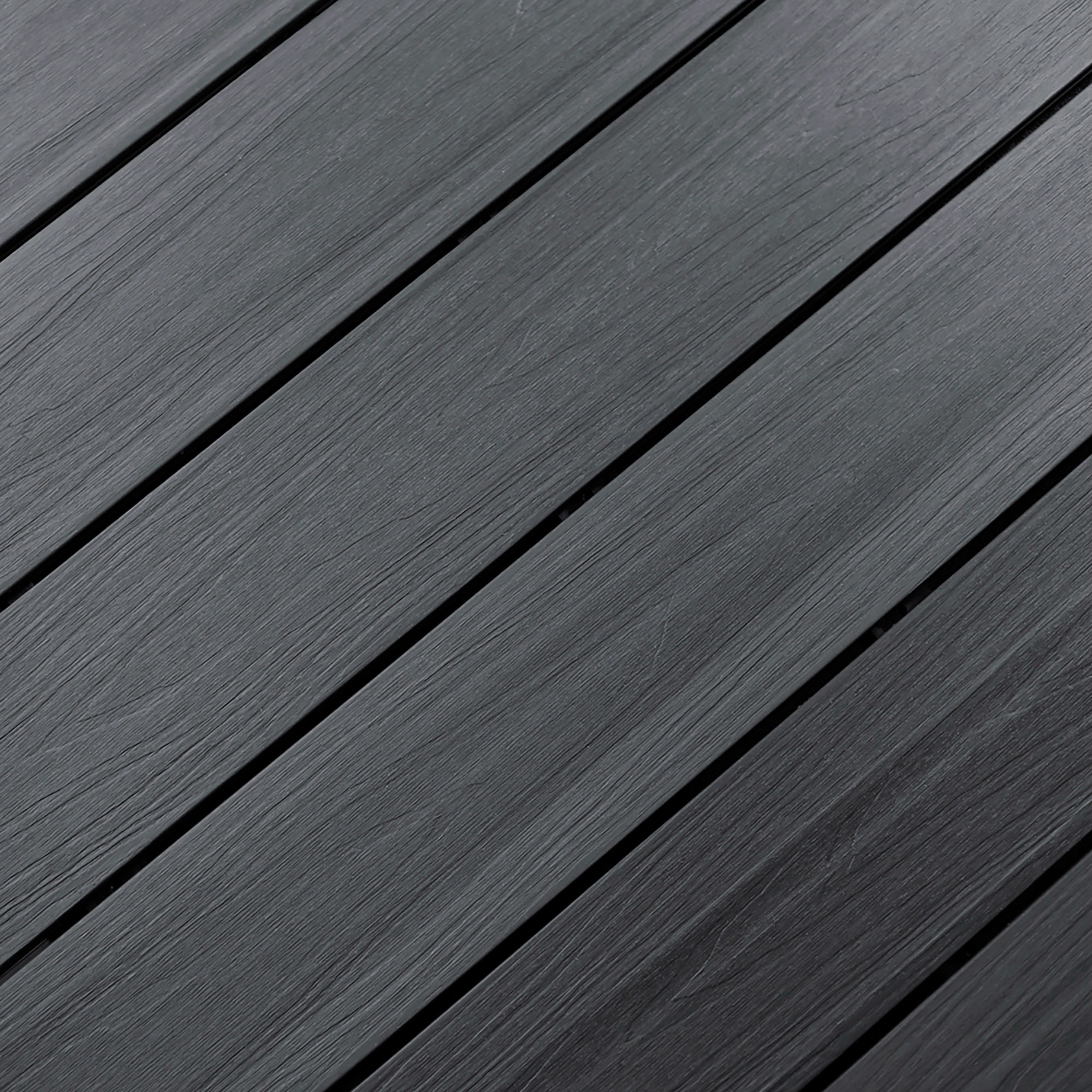 """Light Gray / Solid Grooved / 7/8""""x5 3/8""""x16' Dura-Shield Ultratex Composite Decking 0"""