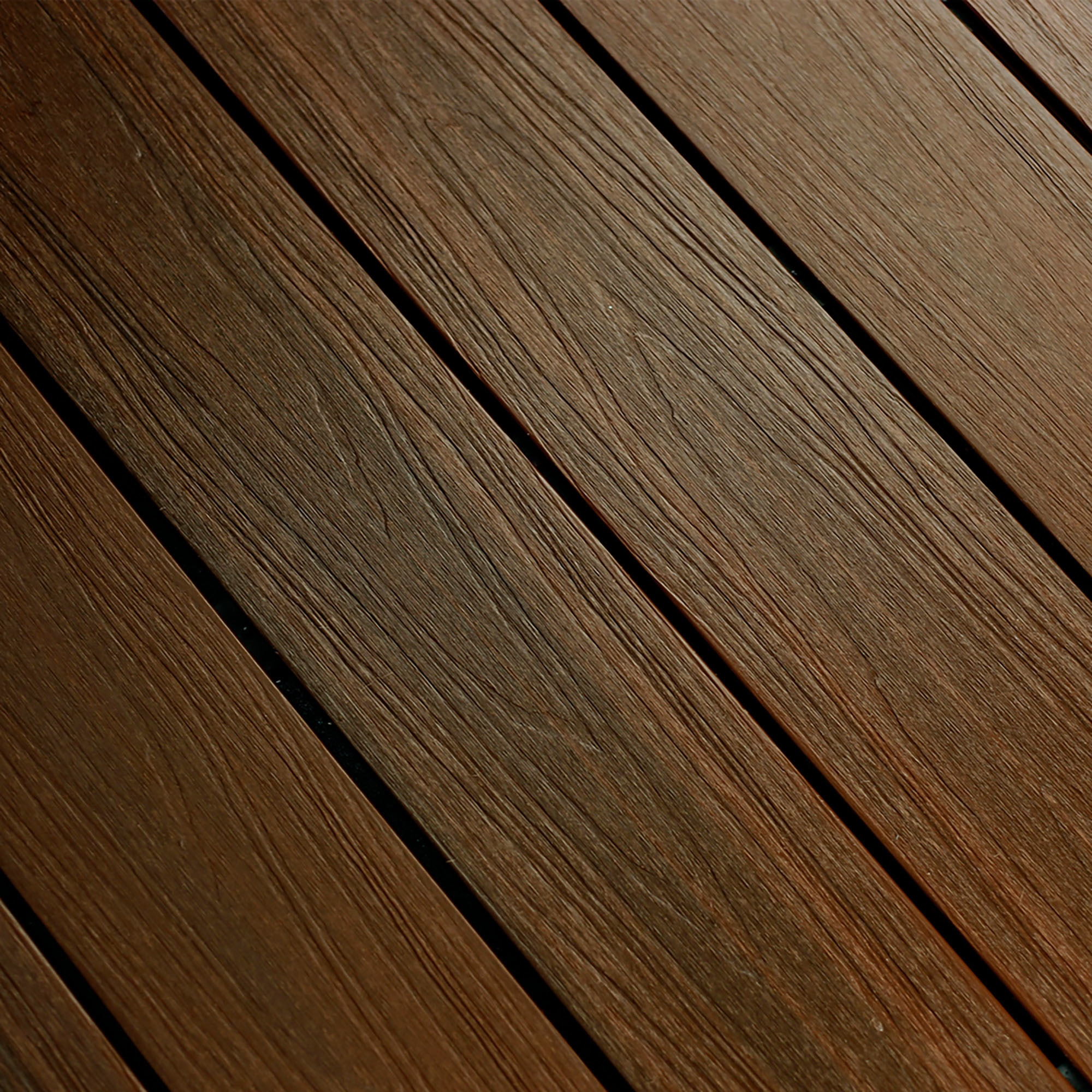 """Ipe / Hollow Grooved / 7/8""""x5 3/8""""x16' Dura-Shield Ultratex Composite Decking 0"""