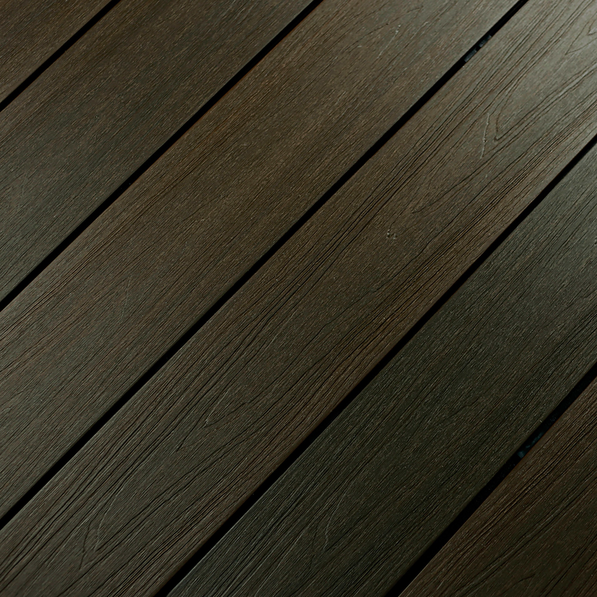 """Walnut / Solid Grooved / 7/8""""x5 3/8""""x16' Dura-Shield Ultratex Composite Decking 0"""