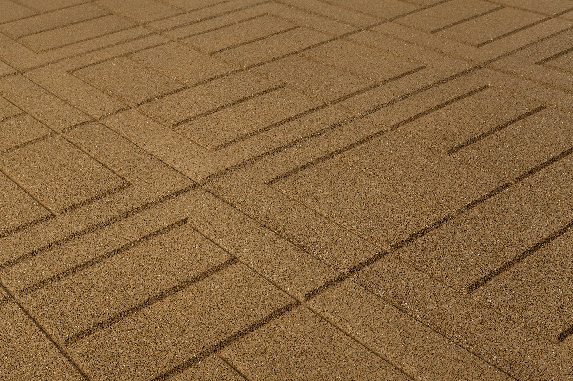 "Interlocking Brick Pavers Brava Outdoor Interlocking Rubber Pavers 24""x24""x34""  Rubber"