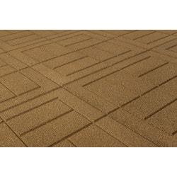"brava outdoor interlocking rubber pavers 24""x24""x3/4"" / rubber"