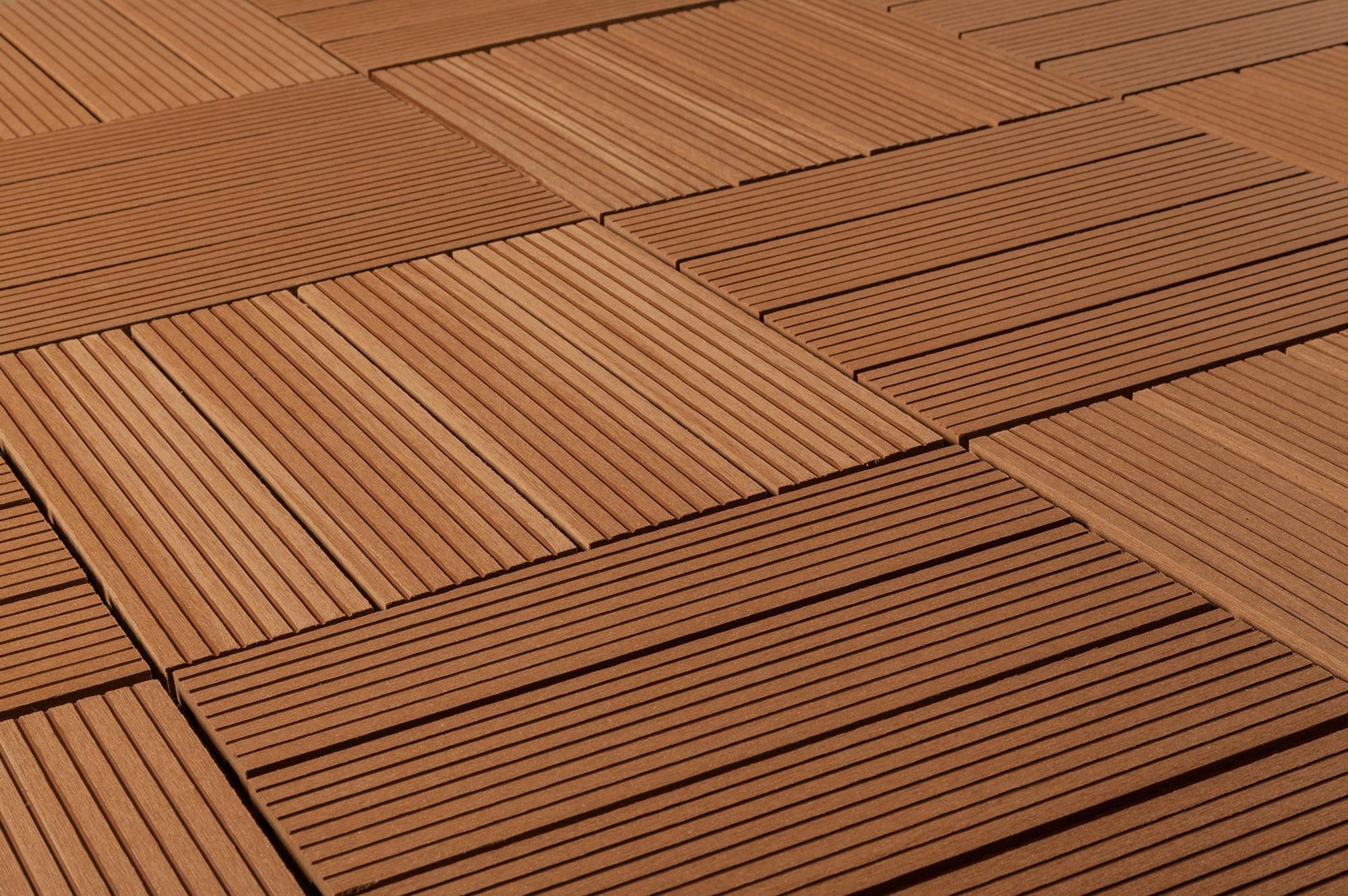 FREE Samples Kontiki posite Interlocking Deck Tiles Classic