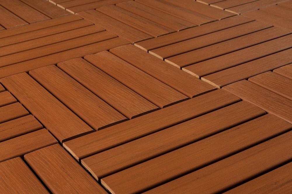 Kontiki interlocking deck tiles engineered polymer for Polymer decking