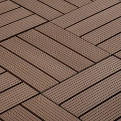 Pravol JF Outdoor Composite Interlocking Deck Tiles