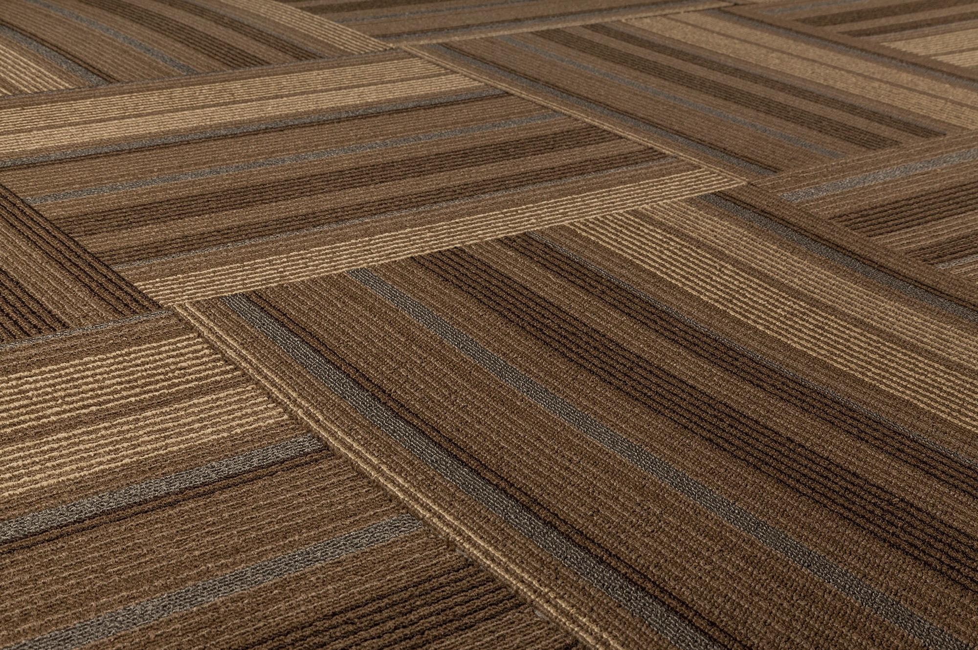 Dante carpet tile lark collection brown beige blue stripe 19 2 dante carpet tile lark collection brown beige blue stripe 19 23x19 23 baanklon Gallery