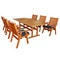 San Jose 7 Piece Teak Dining Set