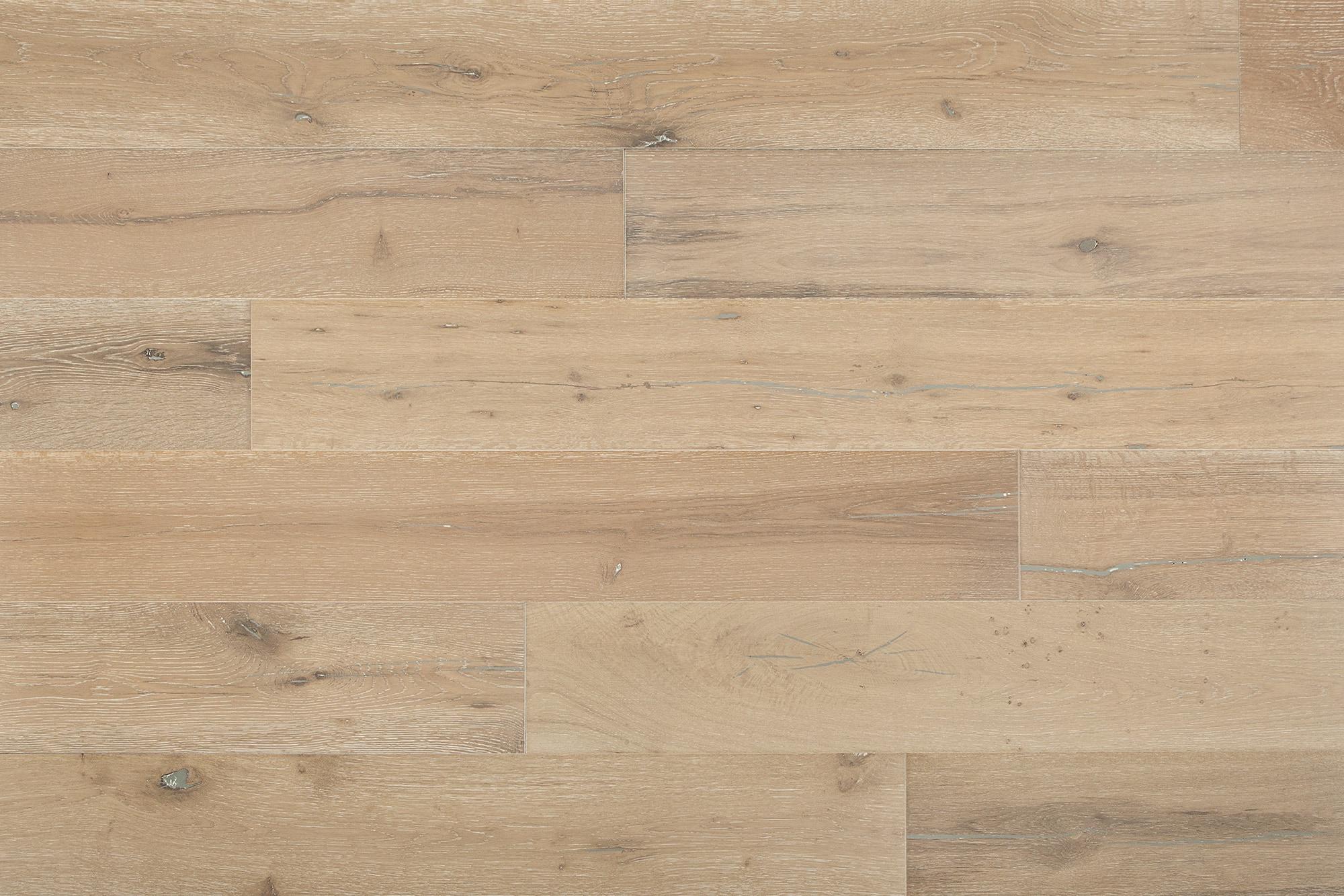 "Sedona Silver / Oak / 7 1/2"" Engineered Hardwood - Baltic Oak Collection 0"