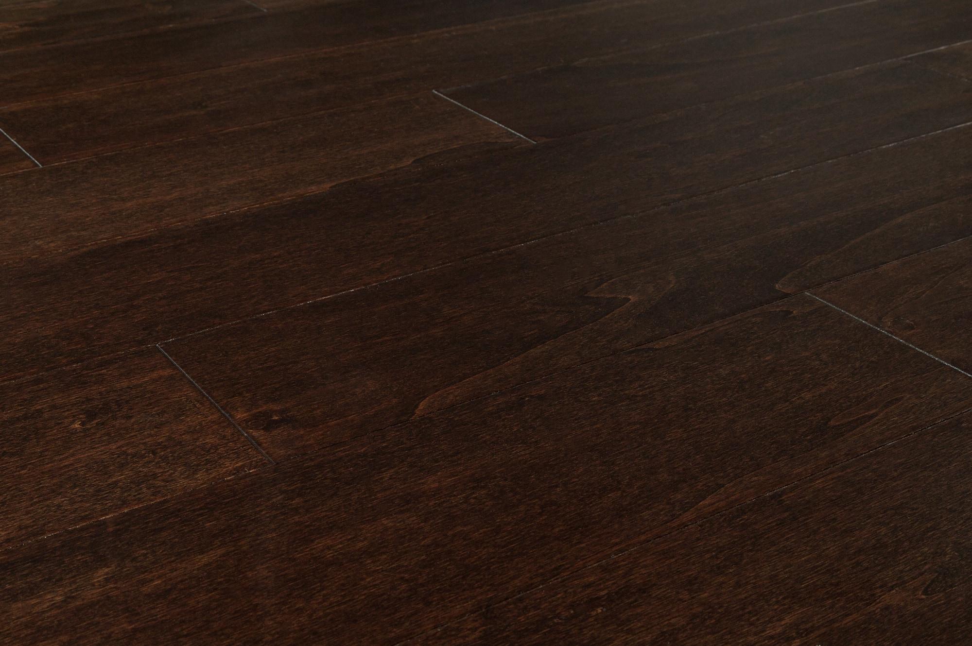 "Espresso / Aspen / 5"" Engineered Hardwood - Aspen Collection 0"