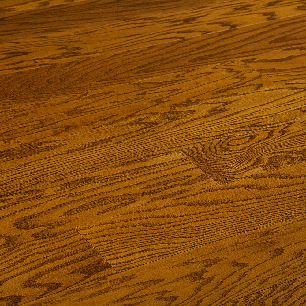 """Butterscotch / Red Oak / Smooth / ABC / 5"""" x 3/8"""" Engineered Red Oak 0"""