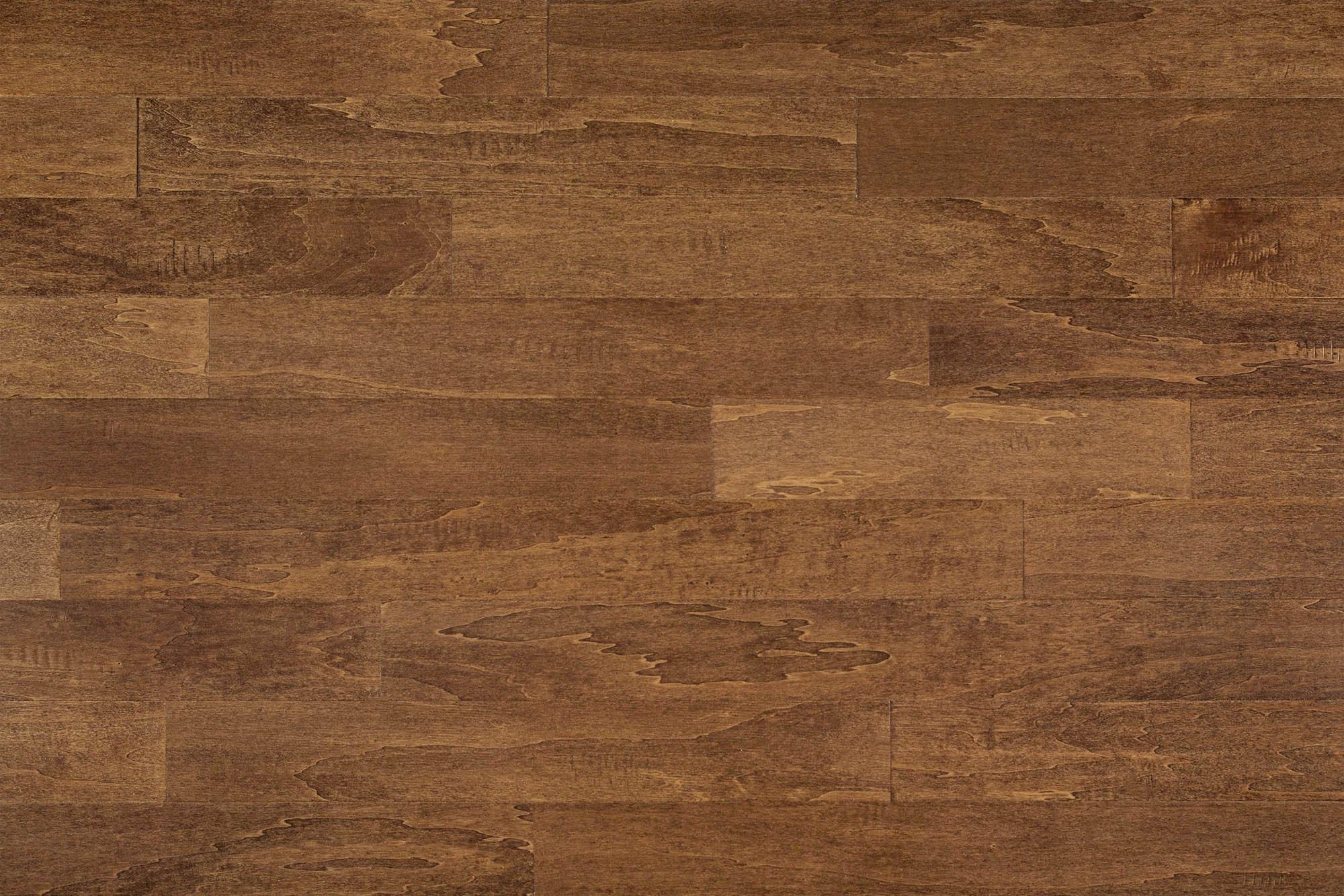 Chestnut / Birch / Handscraped / 4 7/8 x 3/8 Engineered Hardwood - Birch Cosmopolitan Trendy Collection 0